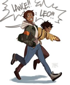 Lance meets Leo Valdez SOMEBODY DID IT! SOMEBODY FINALLY DID IT!!!! ASDFGHJKL;