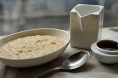 Overnight Steel-Cut Oats with Almond Butter & Honey recipe from Food52