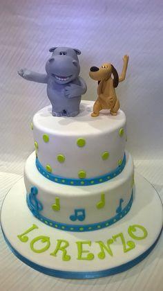 Torta Happy Hippo