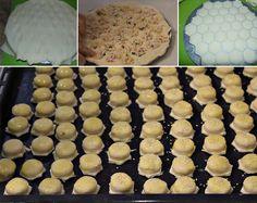 100 kusov za 20 minút: Mini pagáčiky plnené šunkou a syrom + perfektná finta, ako naplniť všetky naraz! Tupperware, Kefir, Ravioli, Muffin, Bread, Cookies, Breakfast, Cake, Food