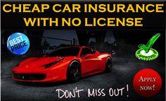 15 Best No License Car Insurance Images Cheap Car Insurance
