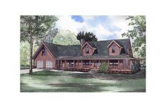 Log Cabin Farm House  2 story + basement, garage, wrap around porch, 2nd story Master suite