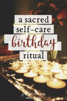 A Sacred Self-Care Birthday Ritual - Dwell in Magic Birthday Quotes, Birthday Wishes, Birthday Week, Your Birthday, Birthday Ideas, Happy Birthday, 19th Birthday, Sister Birthday, Birthday Images