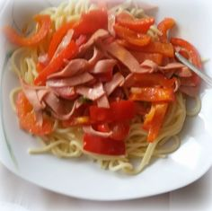 Simi´s Sattmacher- Rezepte und mehr.....: Paprikaspagetti