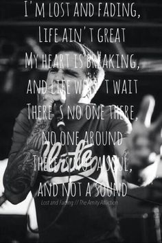 The Amity Affliction- lost and fading