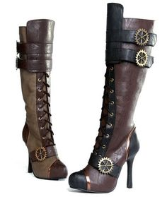 Steampunk boots. Add to the list.