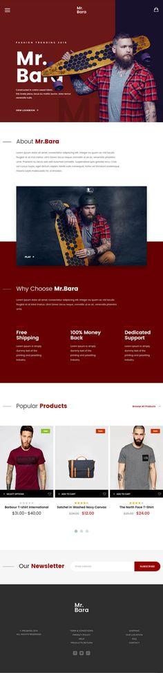 Mr.Bara : Responsive Multi-Purpose eCommerce WordPress Theme