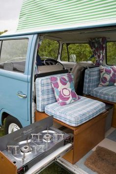 Camper van interior design and organization ideas (3)