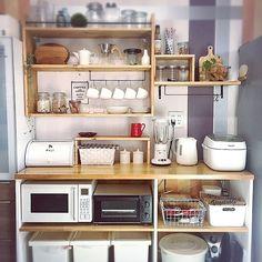 Kitchen Dinning, Home Decor Kitchen, Diy Kitchen, Home Kitchens, Kitchen Layout, Kitchen Design, Minimalist Room, Aesthetic Room Decor, Natural Home Decor