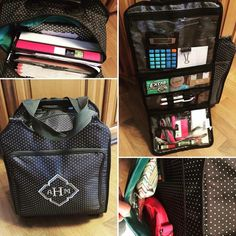 Thirty-one Away We Go Roller Hostess Exclusive! I'm in love with this bag. Great for a mobile office or scrapbooking!