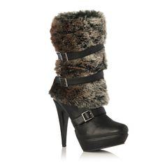 Denitra (another JustFab shoe I feel like I should hate, yet I'm drawn toward)