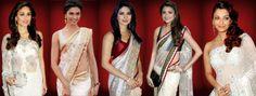 ●► Which of these Bollywood Divas are looking best in White Saree ???    ● Kareena Kapoor  ● Deepika Padukone  ● Priyanka Chopra  ● Anushka Sharma  ● Aishwarya Rai