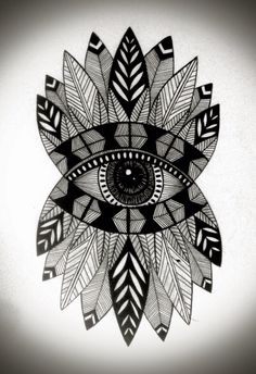 Pinterest Eye Mandala By: Ana Larrotta