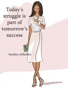 Today's Struggle  Encouragement Cards  Quotes for Women