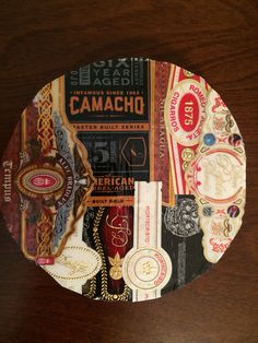Custom made Cigar Band Coaster #3 of 4