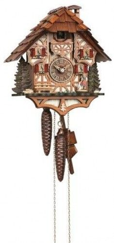 All About Time, Inc. - 6414/9 1-Day Chalet Cuckoo Clock by Schneider, $484.20 (http://allabouttime.net/6414-9-1-day-chalet-cuckoo-clock-by-schneider/)