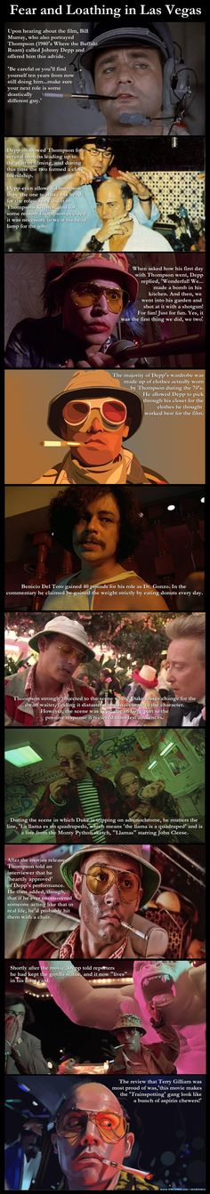 Fear and Loathing in Las Vegas, 1998 Starring Johnny Depp and Benicio Del Toro