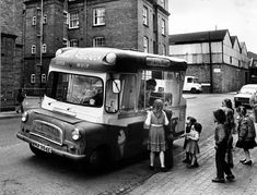 Ice cream van chimes trigger a sense of nostalgia - Birmingham Mail.  Children flock to a van in Palmer Street, Birmingham, in 1963.