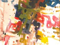 Painting by my blind dad     Arthur Ellis #blind #artist check out his website www.forartssake.com