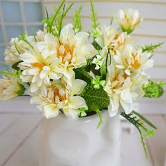 Helen Zora Artificial Flowers Chinese Peony for Home Office Party Decor Wedding Scene Setting >>> Click on the image for additional details.