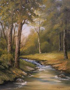 Katalin Nogradi~ c.c.c~ Rushing Waters