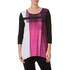 W.Lane Lifestyle Graphic Print Top Shirt Blouses, Shirts, Blouse Online, Graphic Prints, Lifestyle, Tees, Lady, Clothes, Fashion