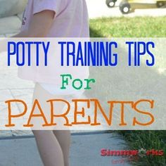 Potty Training Tips for Parents