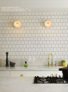 subway tiles kitchen #subwaytiles #decor