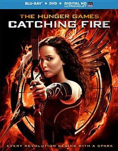 """Home safe after winning the 74th Annual Hunger Games, Katniss and Peeta must turn around and embark on a """"Victor's Tour"""" of the districts, where they sense that a rebellion is simmering, and probably sparked by Katniss. (PG-13)"""