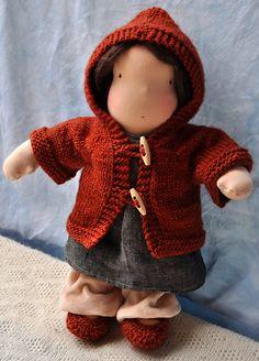 Ravelry: Hazels Hoodie - Waldorf Doll Sweater pattern by ruth haske
