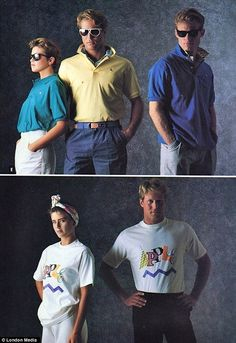 Apple's Clothing Line From The '80s - DesignTAXI.com