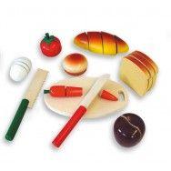 Comidas para cortar. www.eldesvandelaplaya.com