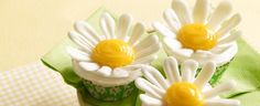 Duncan Hines Recipe - Coming Up Daisies Cupcakes #DuncanHines