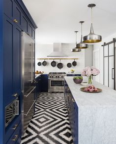 Beautiful work by the Brio Interior Design interior #design #home #decor #idea #inspiration #cozy #house #wall #color #light #modern #kitchen #floor #tiles