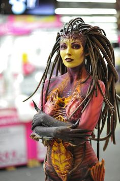 Awesome Kerrigan Cosplay! Our 1,200th Pin on Pinterest! Of course, more to come!