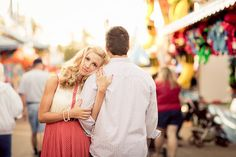 state fair engagement session inspiration