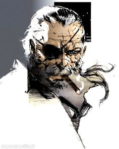 Old Big Boss (Venom Snake) Outer Heaven Color by Me