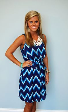 With a red necklace this would be perfect for the Tennessee Titans!