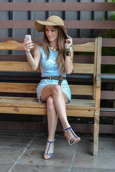Look do Dia: Blue Dress | hotlovedrama