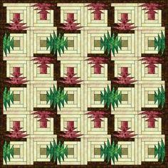Patchwork pattern: Spring Cabin