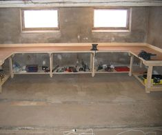 Intro: I have an area in the old barn that is unused and I wanted to convert to a 'rough' working place. The floor is unlevelled , which require adjustable feet...