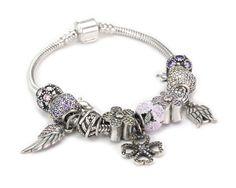 S925 Sterling Silver Zirconia Story Bracelet--charmselft.com