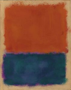 by Mark Rothko Mark Rothko, Rothko Art, Edward Hopper, 21st Century Artists, Classic Paintings, Modern Paintings, Classical Realism, Colors And Emotions, Willem De Kooning