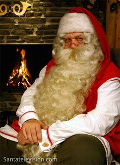 Santa Claus in Santa Claus Main Post Office (Rovaniemi, Finland)