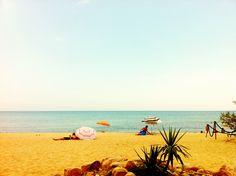 A beach in Corsica. -HauteTravelBlog.tumblr.com