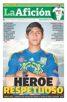 """Portada del 13/08/2013 """"Héroe Respetuoso"""""""
