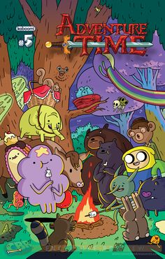 Adventure Time #5 (2nd Printing) by Chris Houghton // #comics
