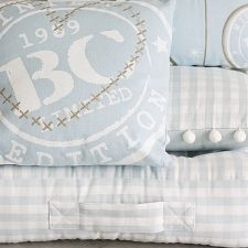 Lovely baby blue pillows