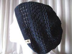 Beanie ♥ gehäkelt ♥ 100% Baumwolle ♥  von ♥ made-by-aleinung ♥ auf DaWanda.com