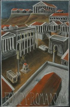 Forum Romanum Blackboard Drawing, Chalkboard Drawings, Chalk Drawings, Chalkboard Art, Ancient Aliens, Ancient Rome, Ancient History, History Medieval, Medieval Times